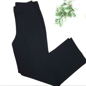 MAXMARA | sz 8 black slacks